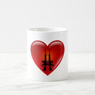 Amo los armas - taza de AR/Heart