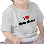 Amo los aros de Hula Camisetas