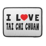Amo los artes marciales de Chuan de la ji del Tai Fundas Macbook Pro