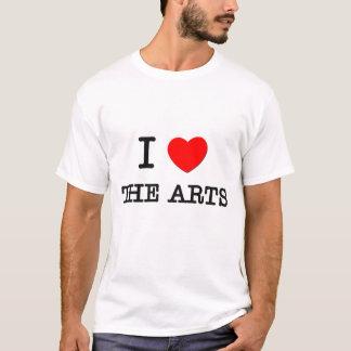 Amo los artes playera