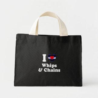 Amo los azotes y las cadenas - bolsas de mano