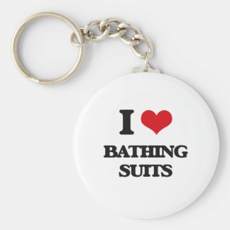 Amo los bañadores llavero