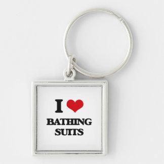 Amo los bañadores llaveros personalizados