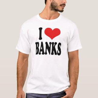 Amo los bancos playera