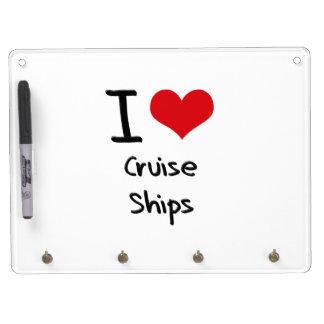 Amo los barcos de cruceros pizarras
