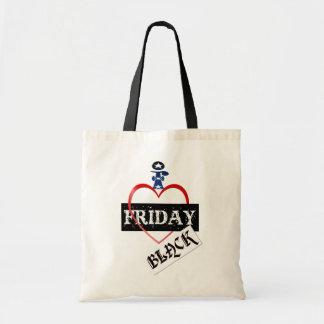 Amo los bolsos negros de viernes