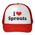 Amo los brotes gorra