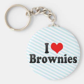 Amo los brownie llavero personalizado