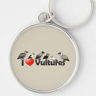 Amo los buitres (África) Llaveros Personalizados