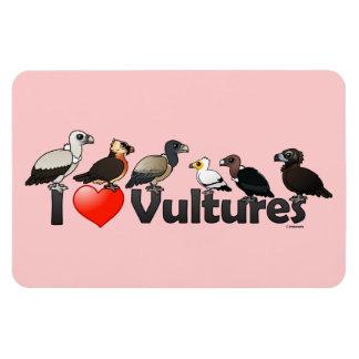 Amo los buitres (Eurasia) Imán De Vinilo