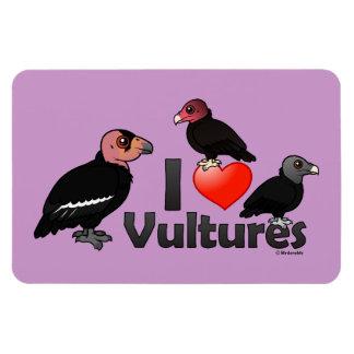 Amo los buitres (Norteamérica) Iman Rectangular