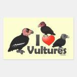 Amo los buitres (Norteamérica) Rectangular Altavoces