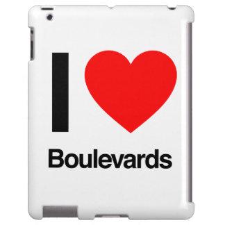 amo los bulevares funda para iPad