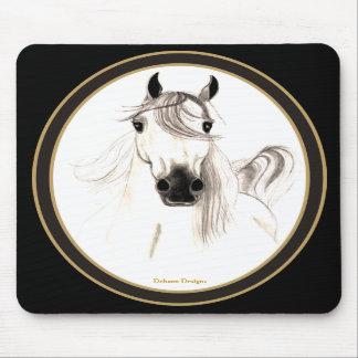 Amo los caballos árabes Mousepad Tapetes De Raton