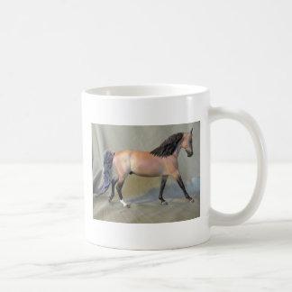 ¡Amo los caballos modelo! Taza Básica Blanca