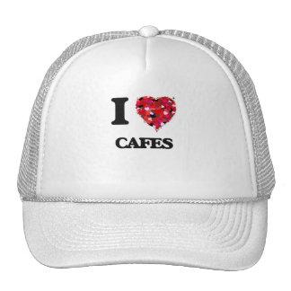 Amo los cafés gorro