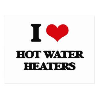 Amo los calentadores de agua postal