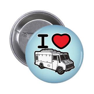 ¡Amo los camiones de la comida! Pin