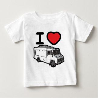 ¡Amo los camiones de la comida! Camiseta
