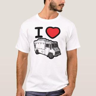 ¡Amo los camiones de la comida! Playera