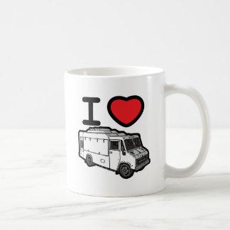 ¡Amo los camiones de la comida! Taza