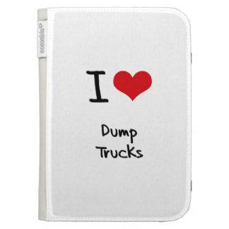 Amo los camiones volquete
