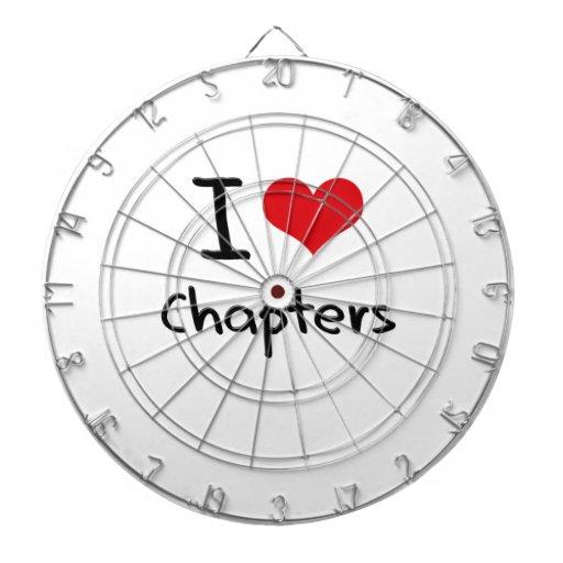 Amo los capítulos tablero dardos