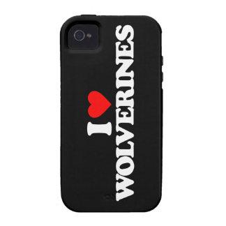 AMO LOS CARCAYÚES Case-Mate iPhone 4 FUNDAS