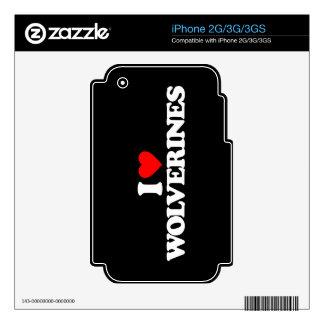 AMO LOS CARCAYÚES SKINS PARA iPhone 3