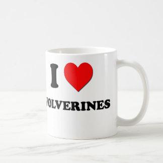 Amo los carcayúes taza de café