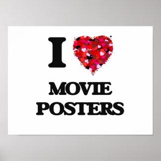 Amo los carteles de película póster