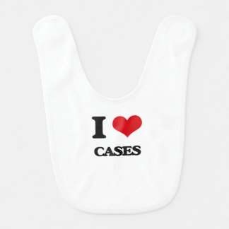 Amo los casos babero