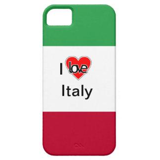 Amo los casos de Italia iPhone 5 Fundas