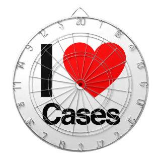 amo los casos tablero dardos