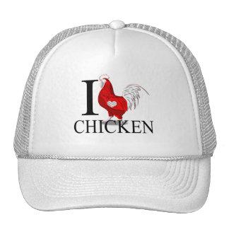 Amo los casquillos del pollo gorro
