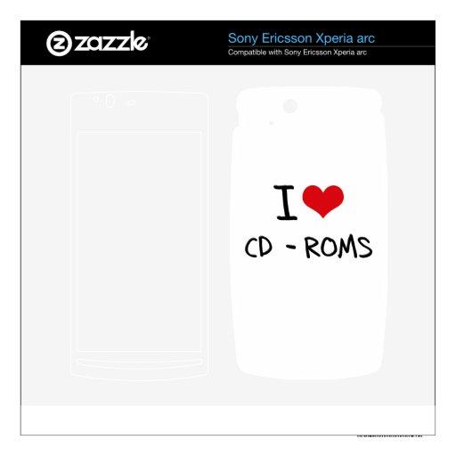 Amo los CD-ROM Xperia Arc Skins