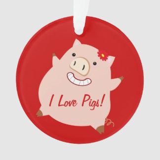 Amo los cerdos (el cerdo bonito adaptable)