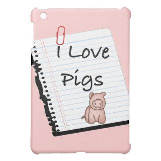 Amo los cerdos (la página del cuaderno)