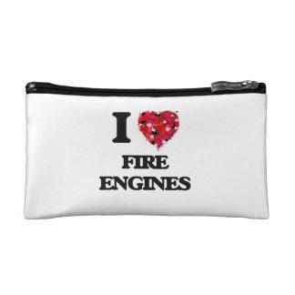 Amo los coches de bomberos
