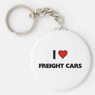 Amo los coches de carga llavero personalizado