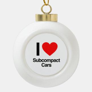 amo los coches del subcompact adornos