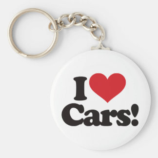 ¡Amo los coches! Llaveros