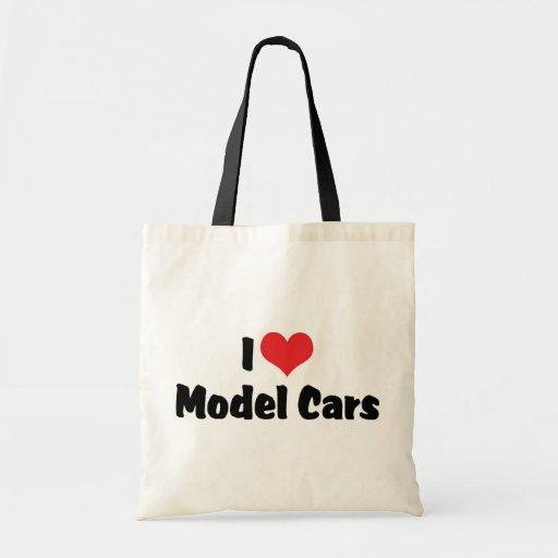 Amo los coches modelo bolsa tela barata