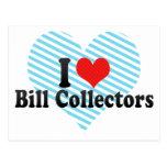 Amo los colectores de Bill Postales