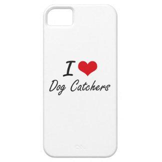 Amo los colectores de perro iPhone 5 fundas