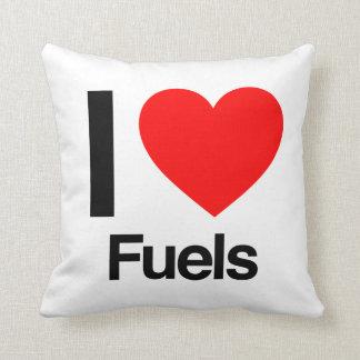 amo los combustibles almohada