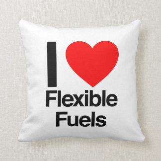 amo los combustibles flexibles cojin
