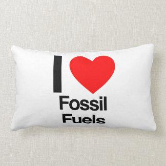 amo los combustibles fósiles almohada