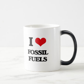 AMO los combustibles fósiles Taza Mágica