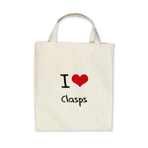 Amo los corchetes bolsas